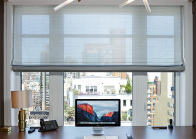 Simplicity shades in office | Home Automation