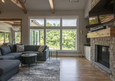 Simplicity living room | Home Automation Kansas City